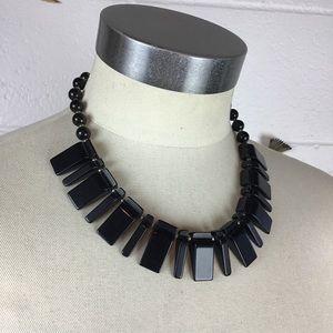 Vintage Bakelite Brass Statement Necklace